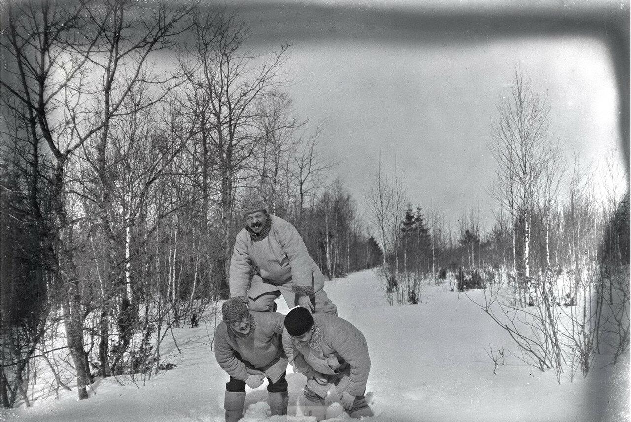 1897. Зимние забавы