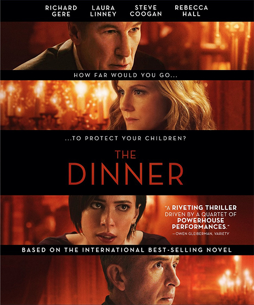 Ужин / The Dinner (2017/WEB-DL/WEB-DLRip)