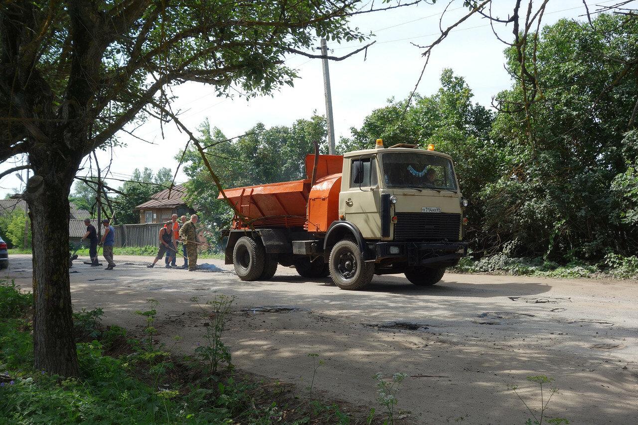 ремонт дороги по-расейски