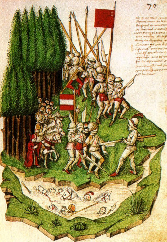 Bendicht_Tschachtlan,_Die_Schlacht_am_Morgarten_(c._1470).jpg