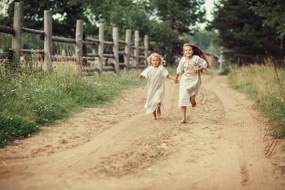Счастливое детство на снимках Светланы Весениной