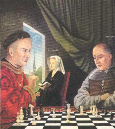 Международный день шахмат. 20 июля. В шахматы играли в прежние века