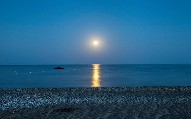 Лунный вечер...