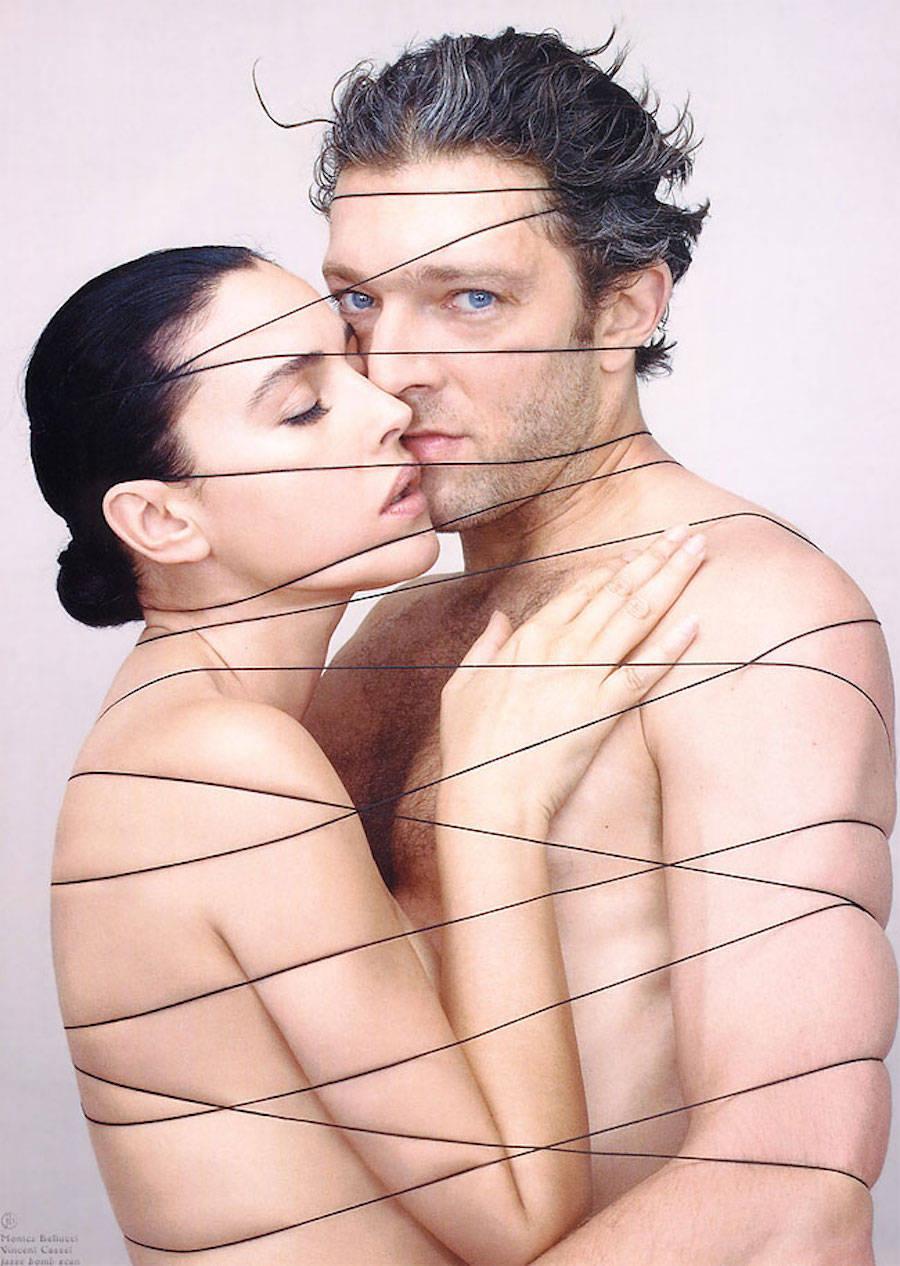 Моника Беллуччи и Венсан Кассель, фотограф — Жан-Батист Мондино.
