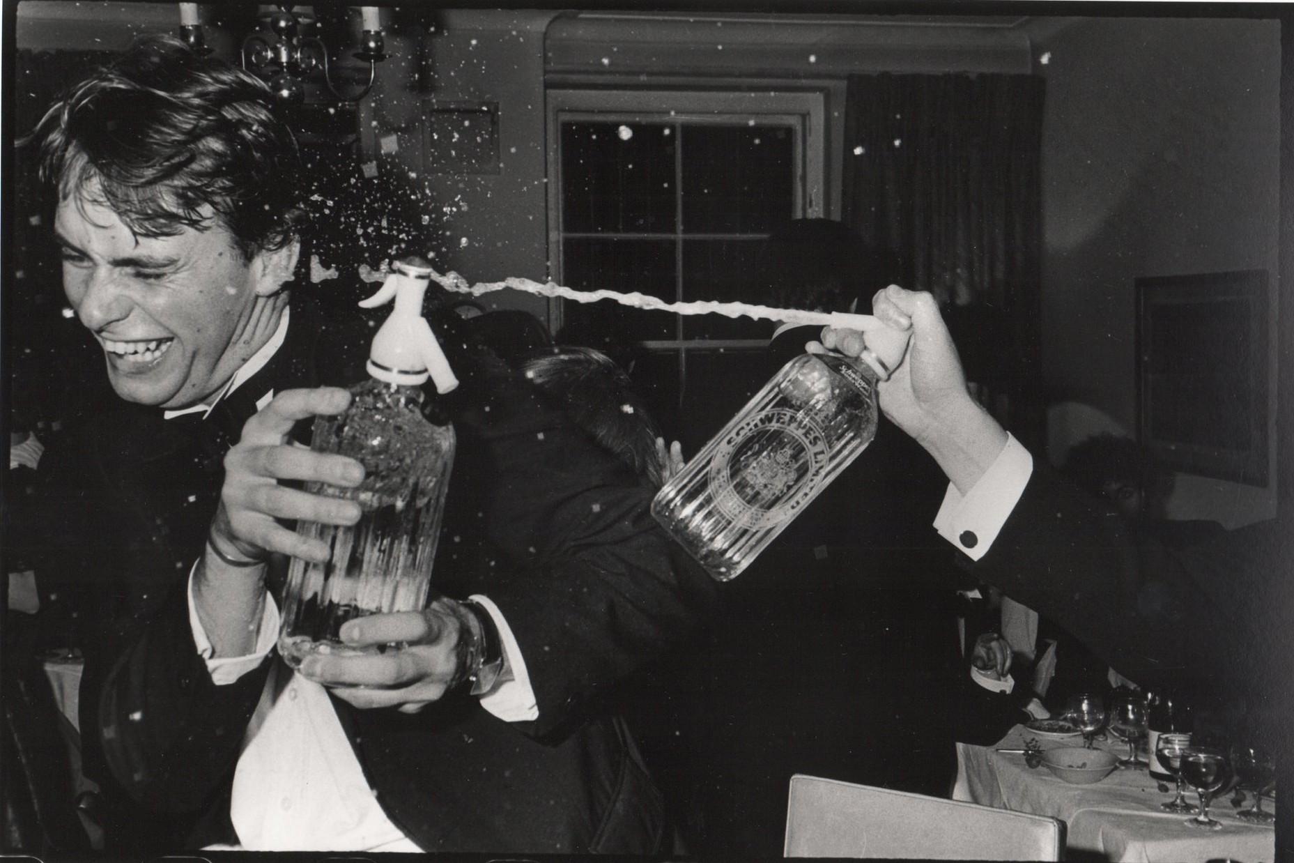 Клайв Кук на вечеринке, организованной Оливером Бакстером. Лондон, 13 ноября 1981 года. Мой стиль фо
