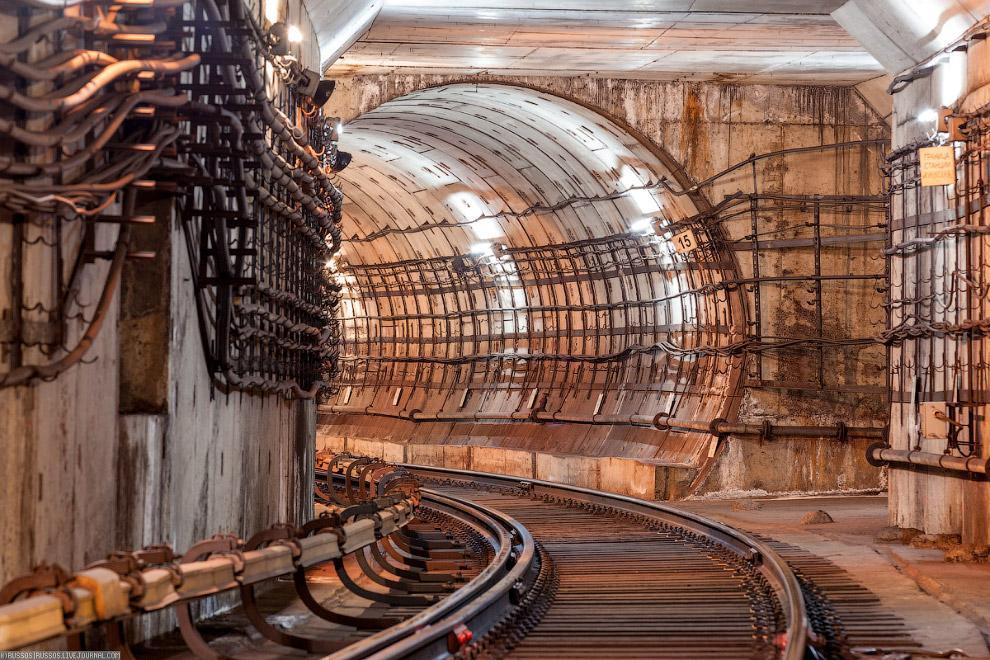 5. Самая длинная станция (по длине платформы) — «Воробьёвы горы» (282 м). Самый длинный перегон