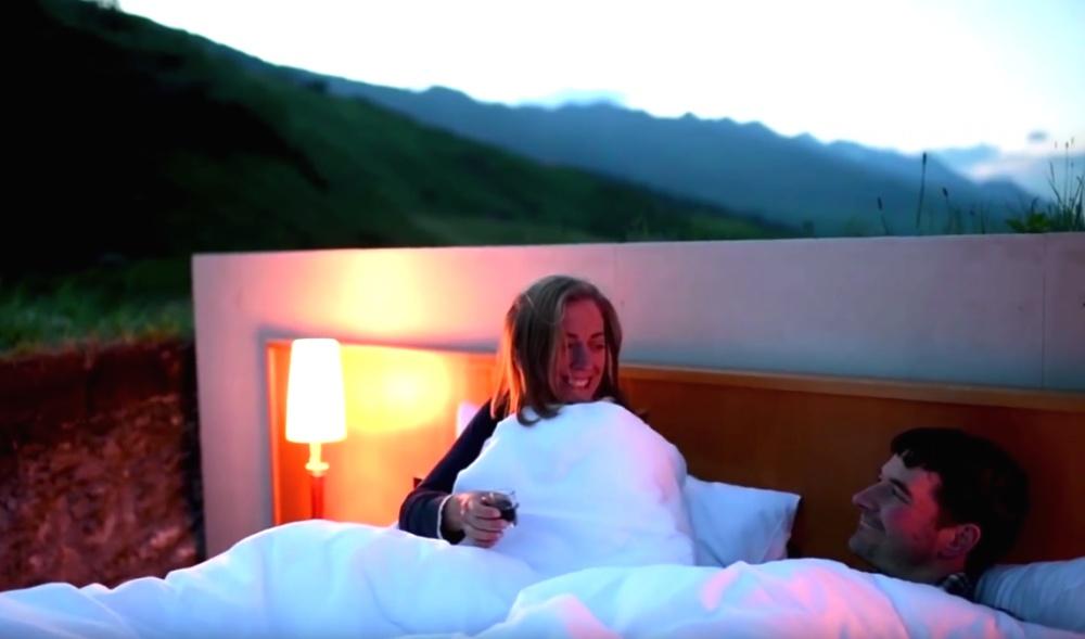 © sonderaufgaben.ch  Но, как ивобычных отелях, Null Shtern предлагает своим гостям обслужива