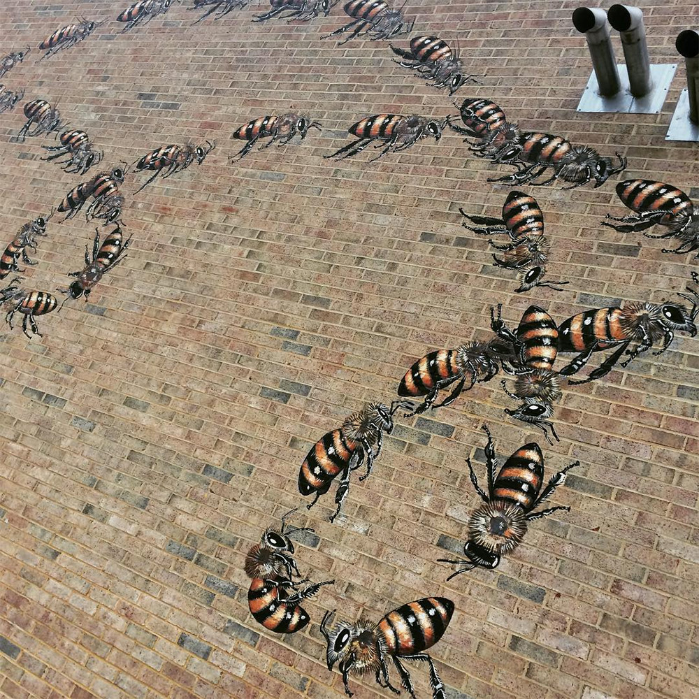 The Good of the Hive: Artist Matthew Willey Travels the World to Paint 50,000 Bees