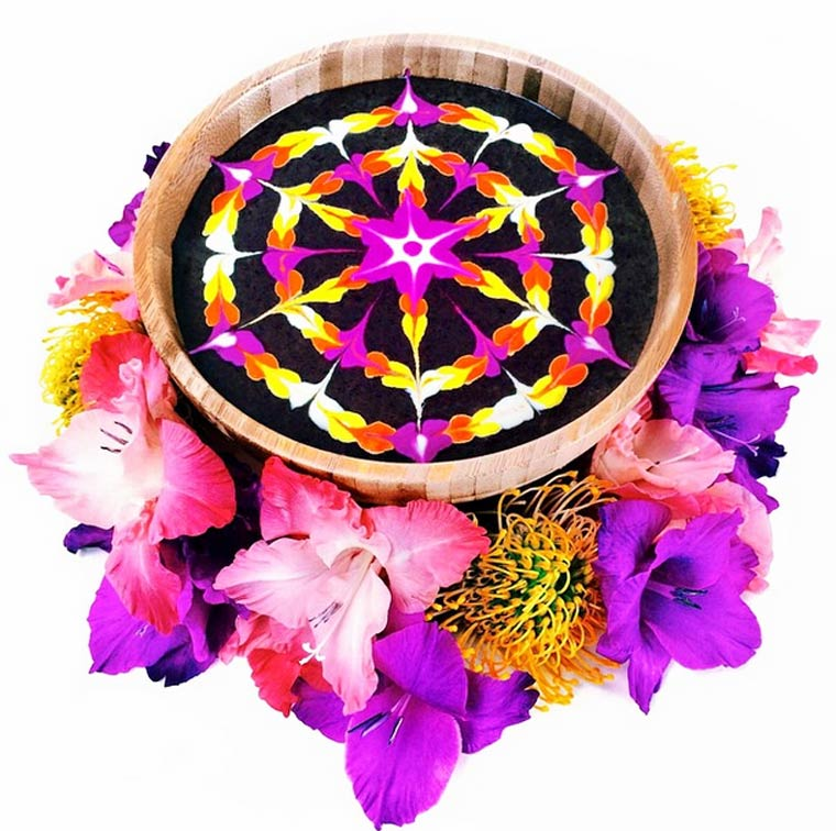 Beautiful vegan mandalas by Steph McCarty