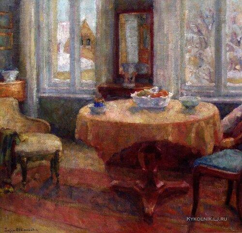 Альбиновская-Минкевич София Юлиановна (1886-1972) «Морозный день» 1963.jpg