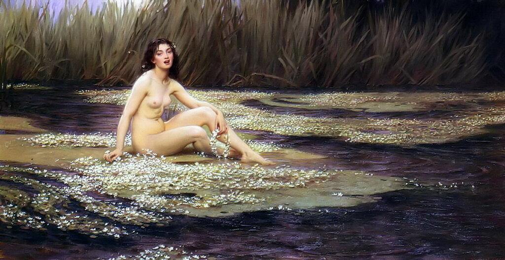 Водная нимфа, 1908 год.jpg
