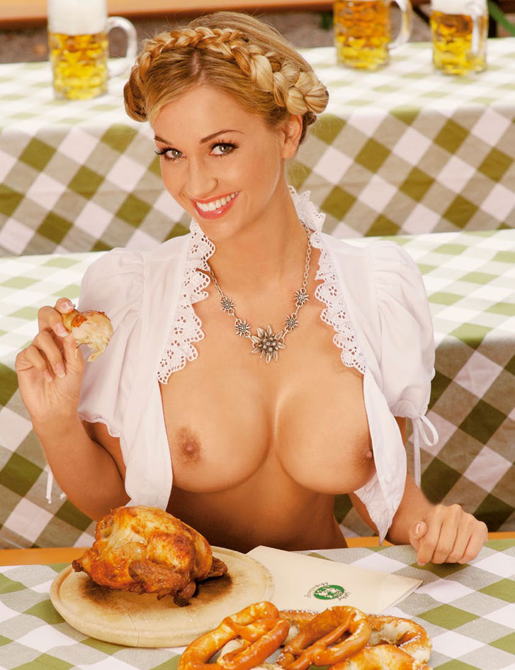 Regina Deutinger / Playboy Germany - Oktoberfest 2014 Special Edition