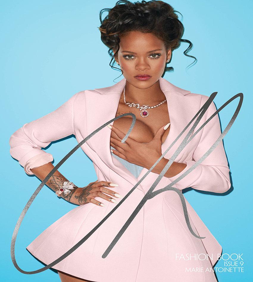 Rihanna - CR Fashion Book Issue 9 (Fall/Winter 2016)