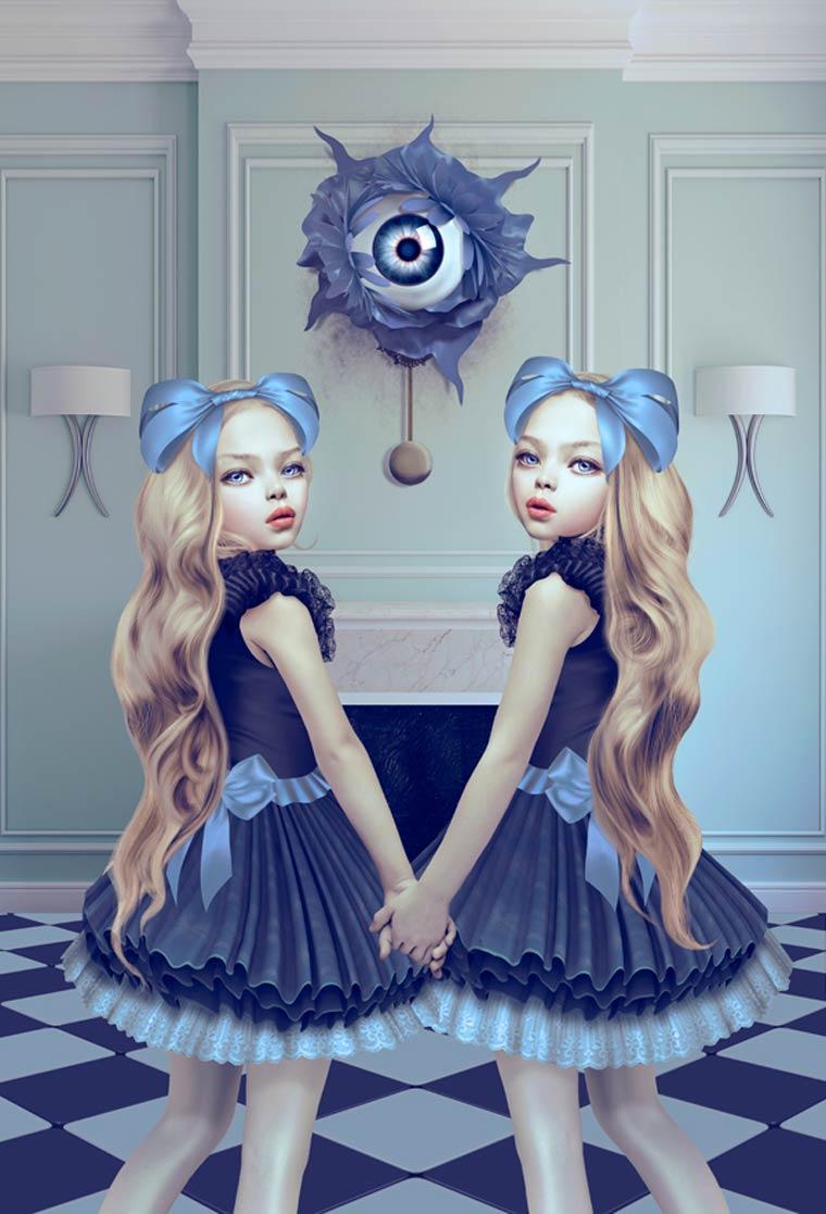 Lost in Wonderland - Le monde sombre et surrealiste de Natalie Shau