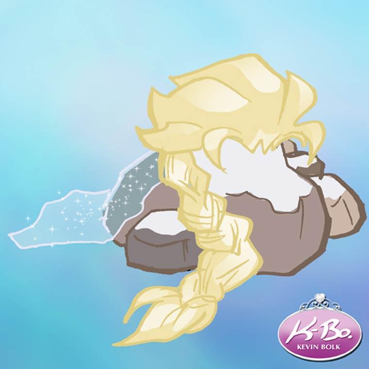 WTF du jour - Les Princesses Disney reimaginees en tas de cailloux…
