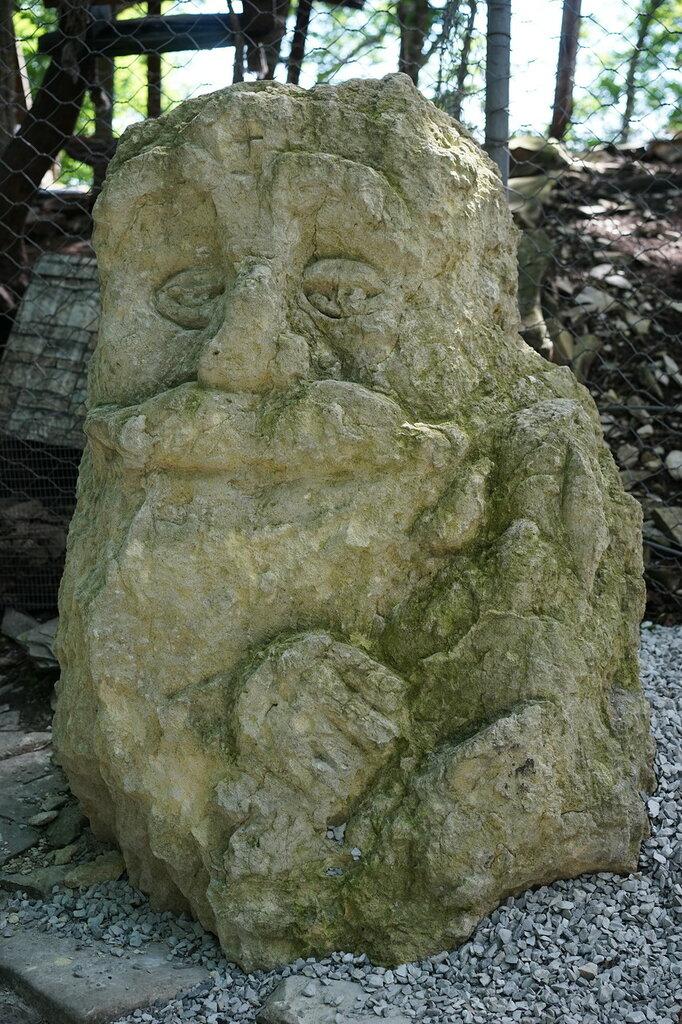 Каменная скульптура. Верхний уровень Сафари-парк, Геленджик