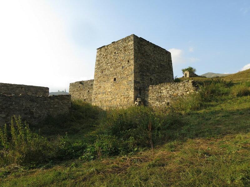 Жилая башня селения Эрзи