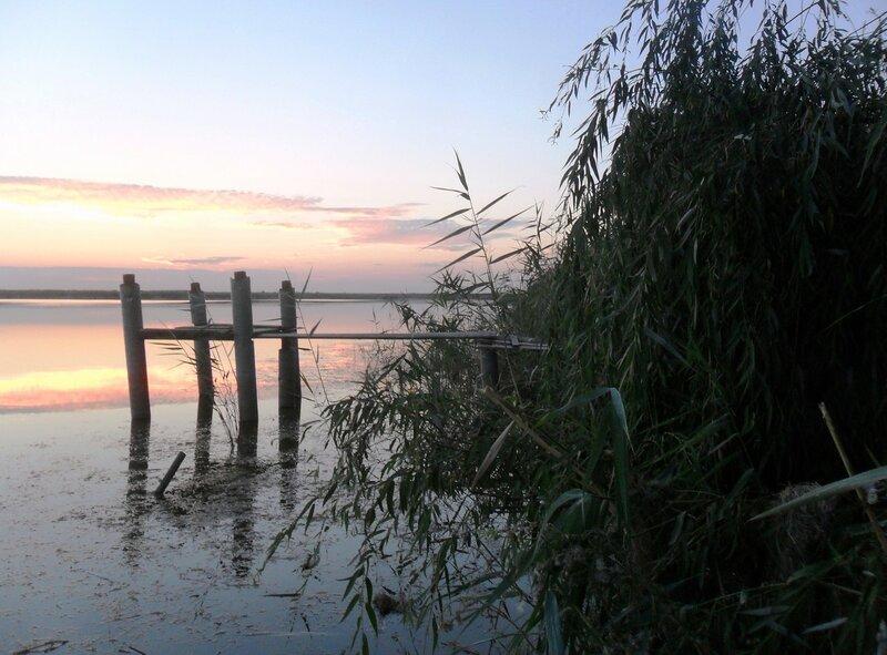 На закате, вечер туристического велопохода ... SAM_3408.JPG