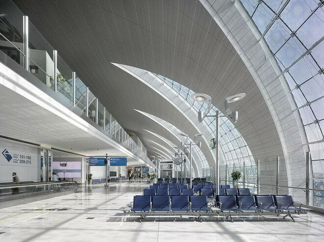 Международный аэропорт Дубай (Dubai International Airport)