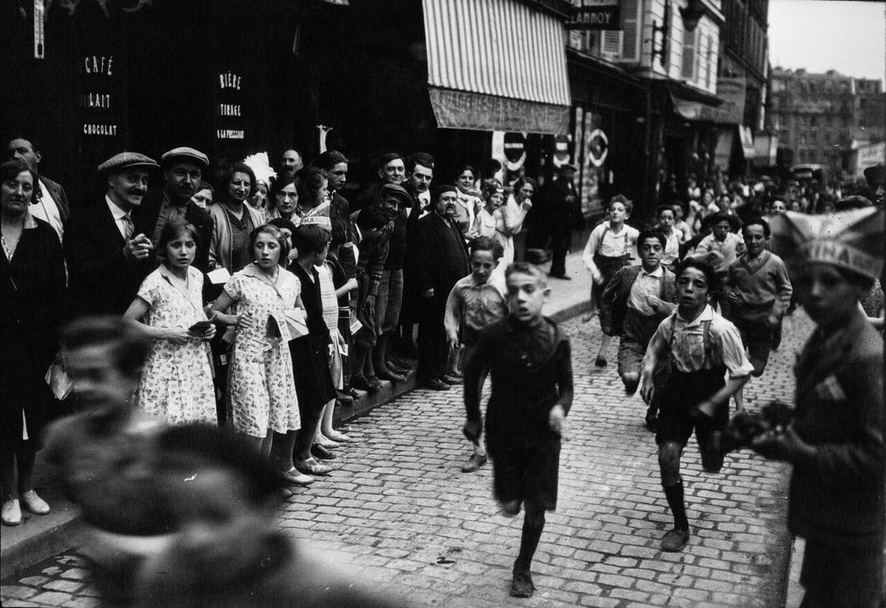 1932. Забег детей в Бельвиле