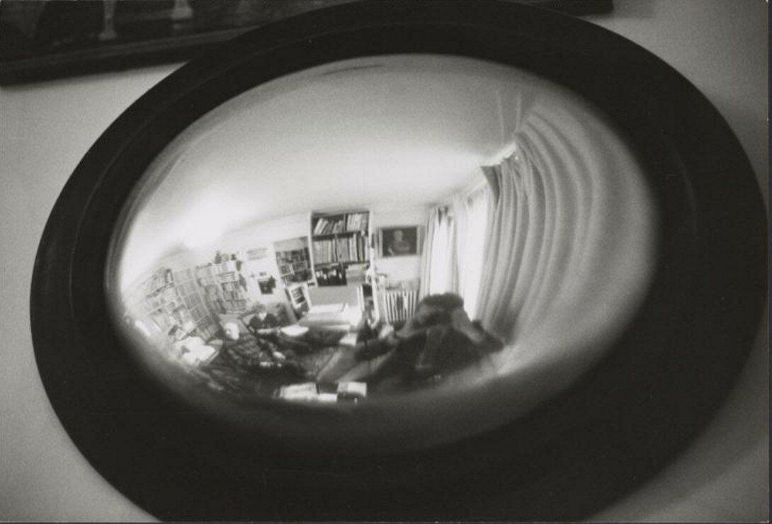 1980. Отражение Брассая в зеркале