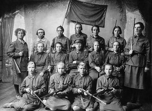Верхнеуральск. Женская команда Осоавиахима. 1931