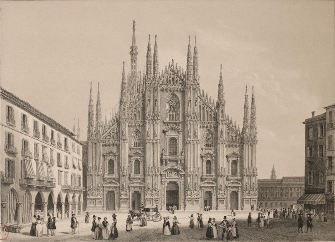 Италия. Миланский собор