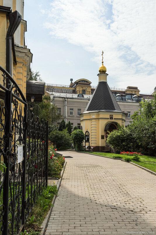 Богоявленская часовня церкви Николая Чудотворца в Звонарях