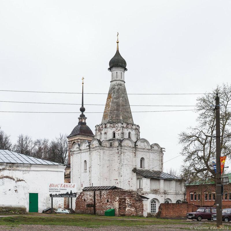 Церковь Петра Митрополита. Красная площадь. Переславль-Залесский.