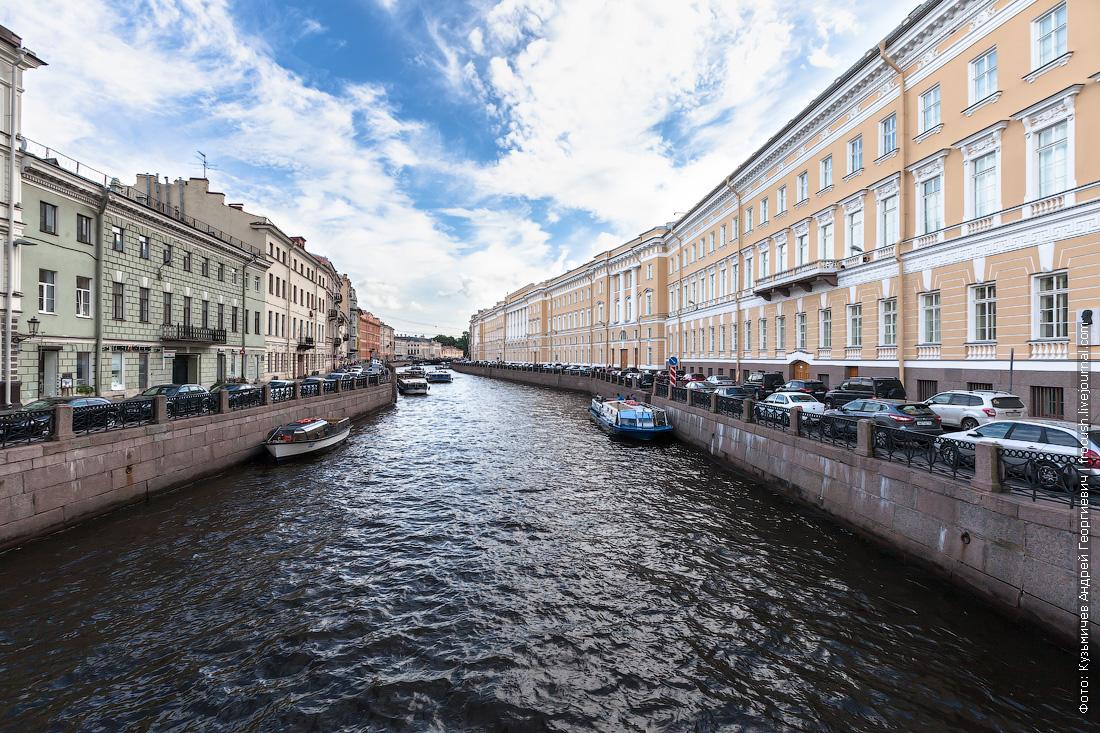Санкт-Петербург река Мойка