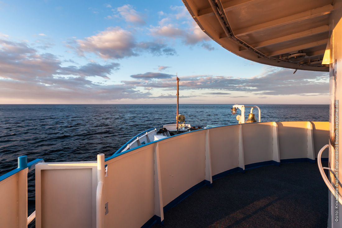 теплоход русь великая белое море вечернее фото