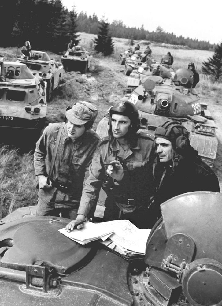 Совместные учения советских, польских и чехословацких войск, 1975 год