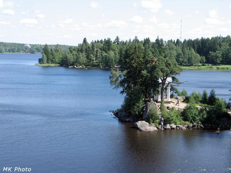 Вид с острова