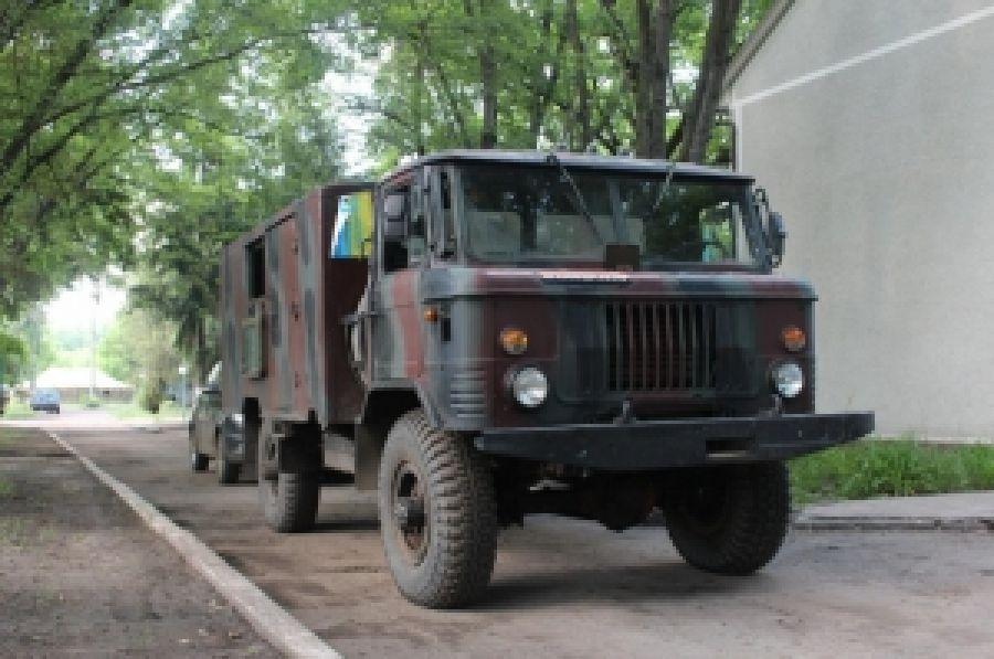 Машина в подарок бойцам ДУК от волонтеров Закарпатья