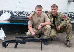 """Благотворители передали бойцам """"Аратты"""" снайперскую ґвинтівку"""