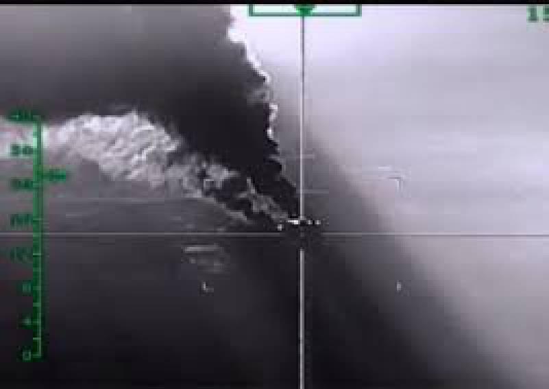 Минобороны России опубликовало видео пусков ракет по Сирии из Средиземного моря. ВИДЕО