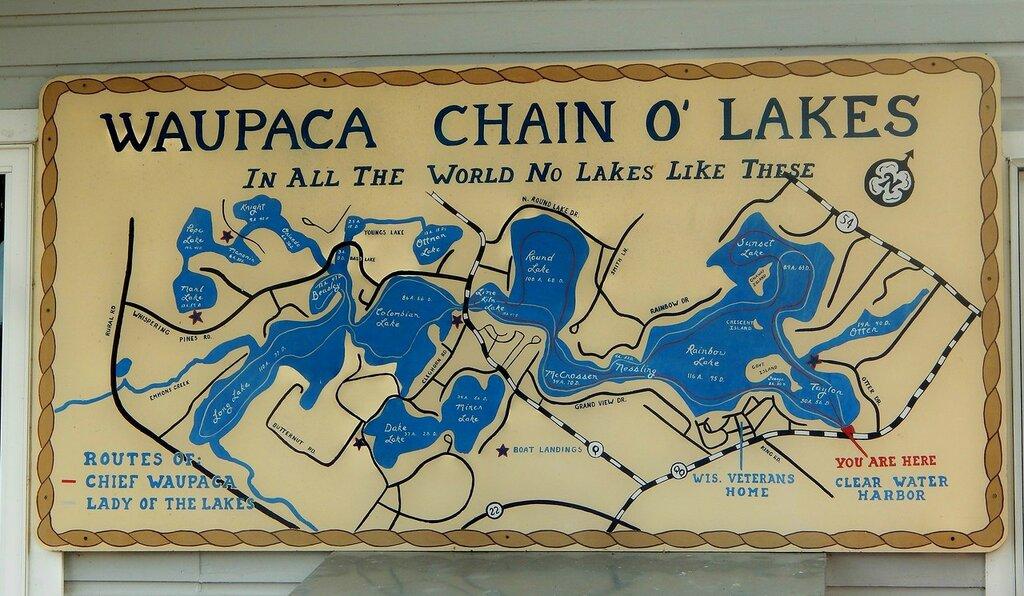 Waupaca Chain O Lakes-2016.