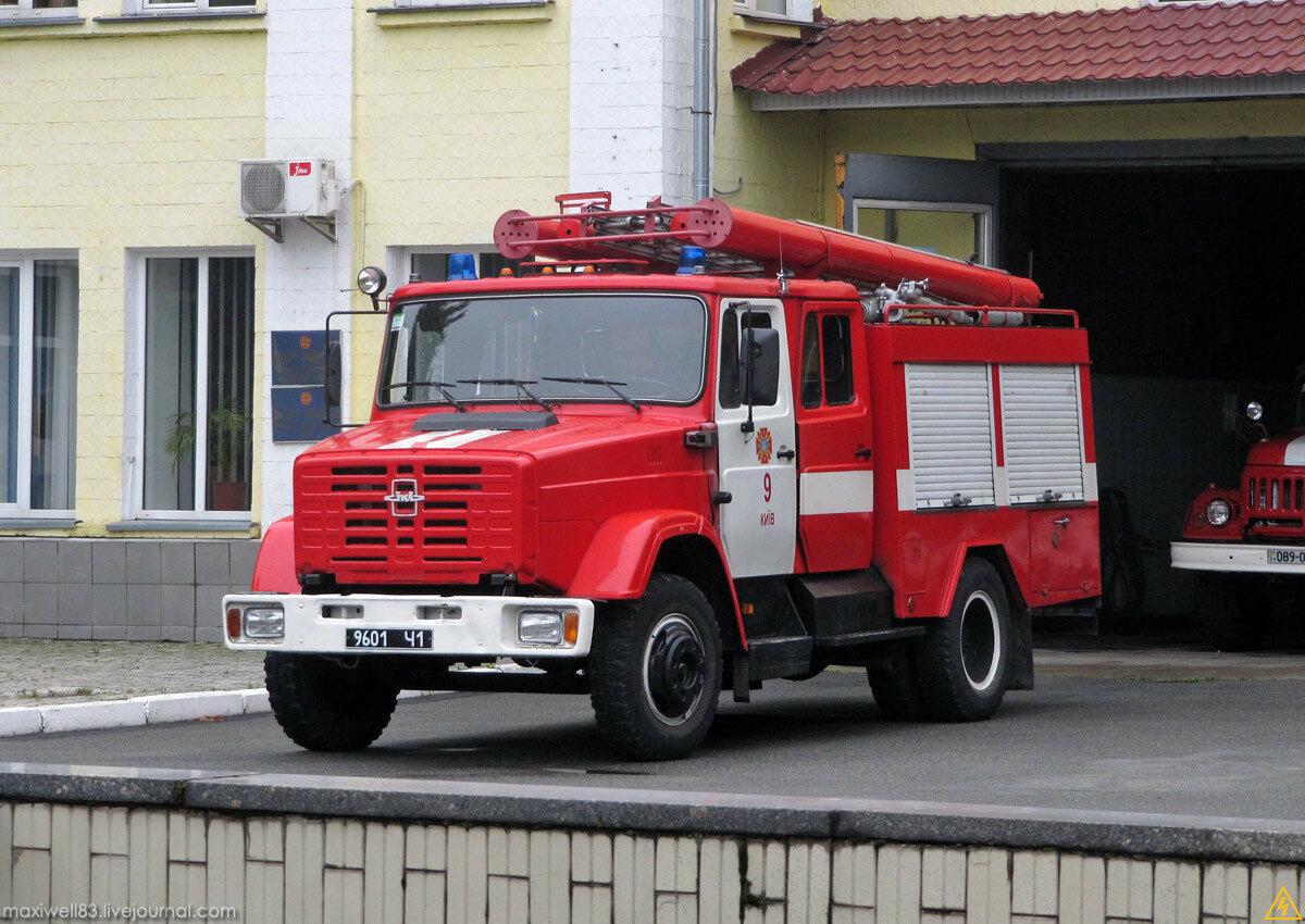 ЗИЛ 4331 пожарный