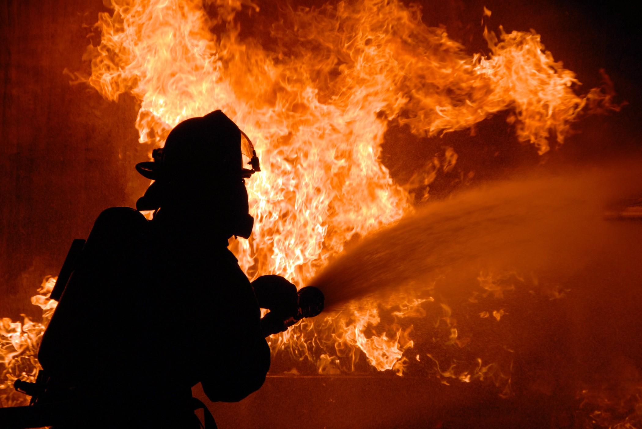 Ночью воВладимире произошел пожар вжилом доме