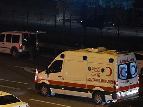 В Турции 20 человек были ранены в результате взрыва у штаба полиции