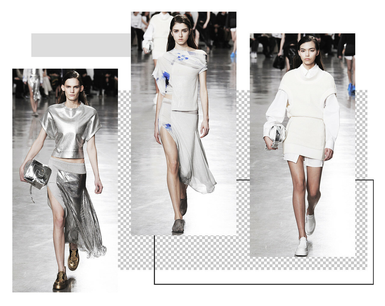 DISTRICT F - PACO RABANNE FW17 Collage