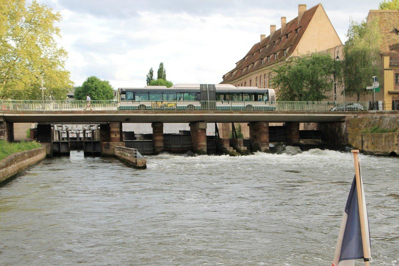 По каналам Старасбурга. Шлюзы