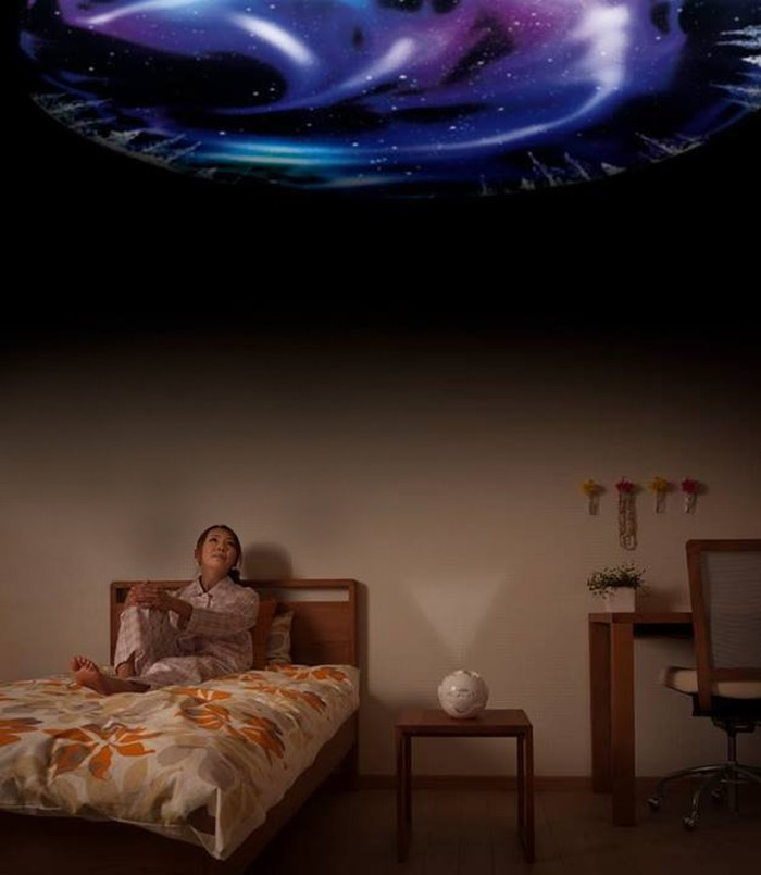 10. Домашний планетарий Уникальный планетарий HomeStar Aurora Alaska.