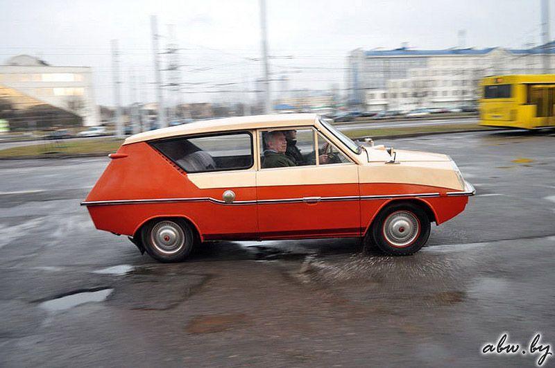 """Удалось и нам испытать """"Фантазию"""". Ощущения от автомобиля – как от серийного ВАЗ-2"""
