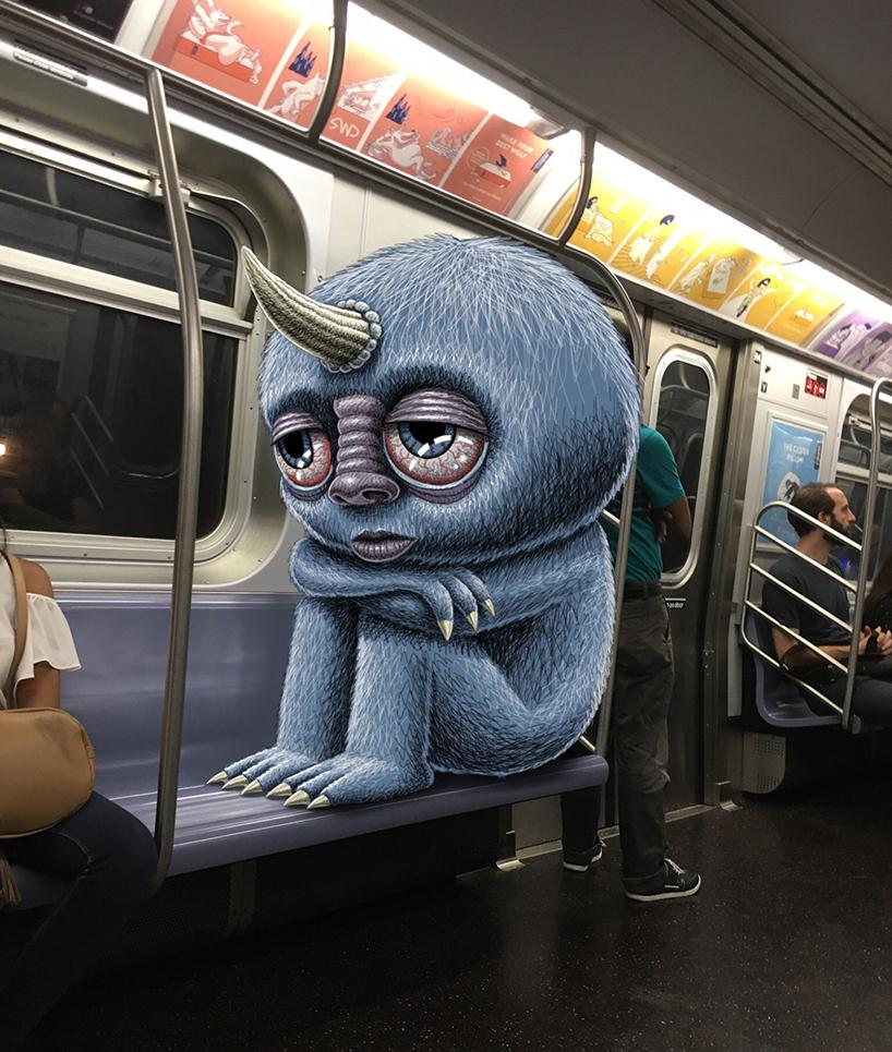Монстры в метро Нью-Йорка