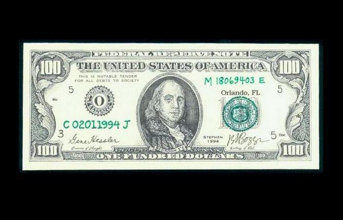 Handmade: банкнота или картина? Для некоторых JSG Boggs является настоящим художником, а другие (осо