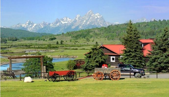 9. Heart Six Ranch, Moran, США Именно здесь можно насладиться настоящей деревенской романтикой. Ранч