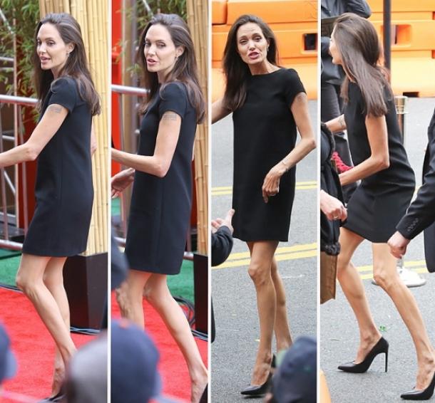 Конечно, вполне вероятно, что в какой-то период между Джоли и Питтом действительно пробежала чер