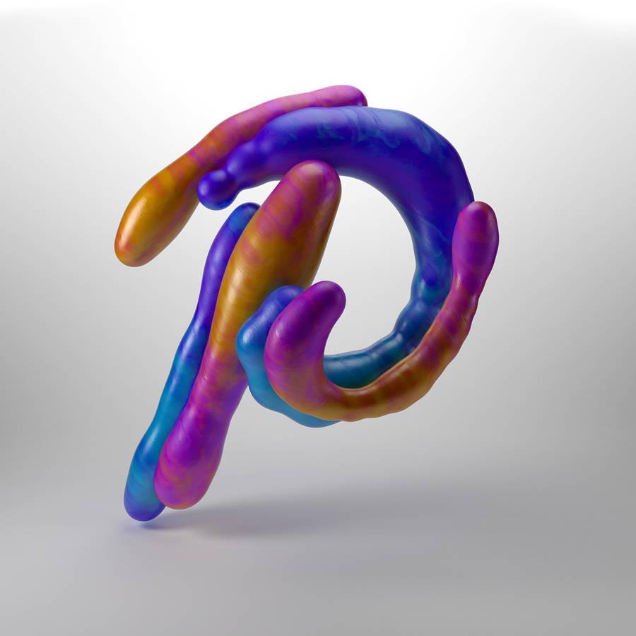 Яркая 3D-каллиграфия Victor Bregante
