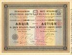Русско-бельгийское металлургическое общество   1895 год